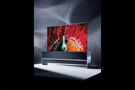"""LG unveils incredible 65-inch """"roll-away"""" 4K TV"""