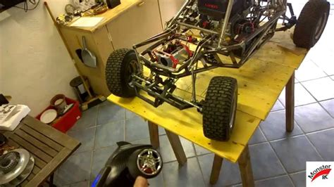 RC Car 1/3 Scale 1/3 Homemade RC Part 1 ( Monster RC