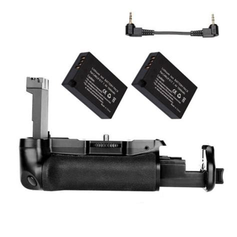Powerful Battery Grip Pack For Canon EOS 800D / 77D+ 2x LP