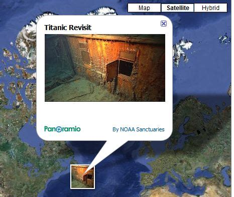 Google Earth: Your Ticket to Titanic