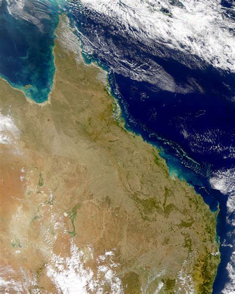 NASA Visible Earth: Great Barrier Reef from SeaWiFS