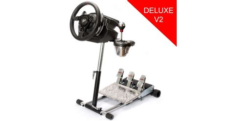 Wheel Stand Pro Deluxe V2, stojan na volant a pedály pre