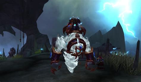 Shaman Class Mount and Quest - Farseer's Raging Tempest