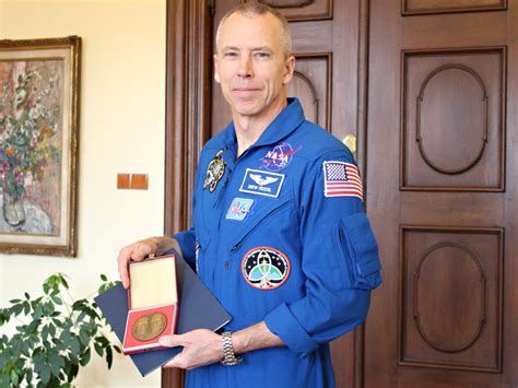 Astronaut Andrew Feustel dnes na UP: medaile, besedy a