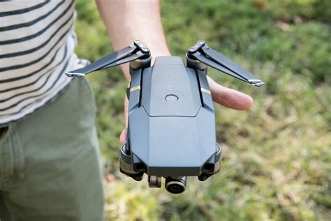 DJI's new Mavic Pro drone folds up and fits in the palm of
