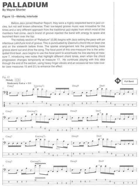 JACO PASTORIUS - A Step-by-Step Breakdown of the Styles