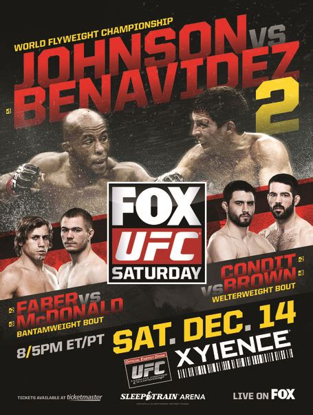 Upcoming UFC and MMA schedule - Bloody Elbow