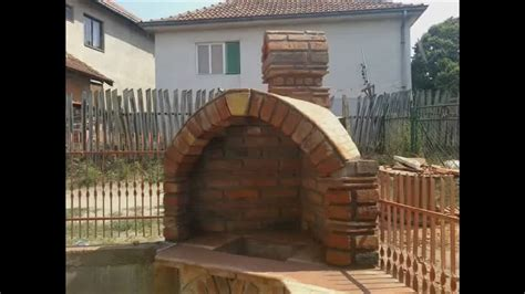 How to Build a brick & roof tiles barbeque (BBQ) DIY