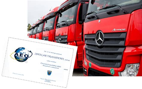 Truck and express transport, forwarding services - Jipocar