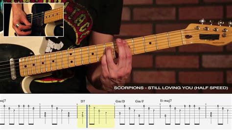 """How to Play """"Still Loving You"""" by Scorpions - Legendary"""