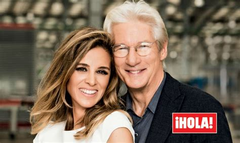 Confirmed! Richard Gere and wife Alejandra Silva welcome