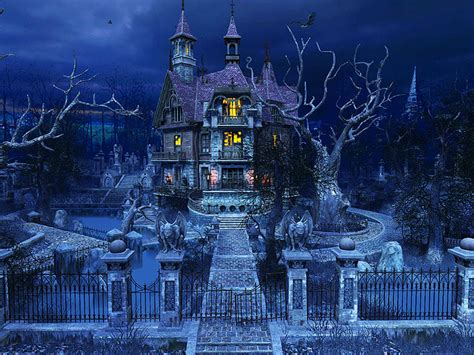 Holidays 3D Screensavers - Haunted House - Gorgeously