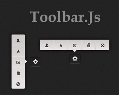 jQuery Plugin To Create Tooltip Style Toolbars - Toolbar