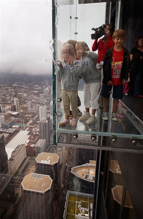 Sears Tower To Unveil New Glass Ledge On 103rd Floor - Zimbio